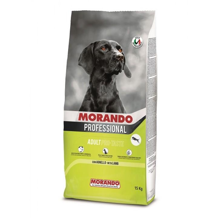 MORANDO PROFESSIONAL ADULT PRO TASTE  сухий корм з ягнятиною, 15кг (8007520098069)