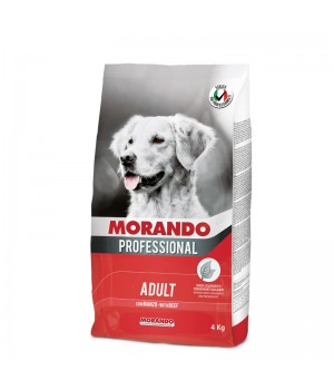 MORANDO PROFESSIONAL ADULT сухий корм з яловичиною, 4кг (8007520096027)