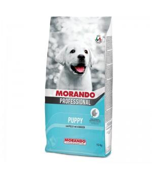 MORANDO PROFESSIONAL PUPPY сухий корм з куркою, 15кг (8007520099950)