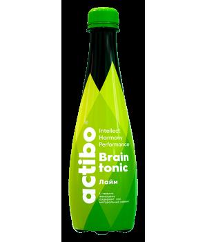 Напій безалкогольний тонізуючий сильногазований ACTIBO зі смаком LIME 400мл  (4870227272513)