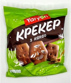 Крекер Yarych З какао 180 г (4820154480819)