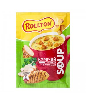 Суп Курячий Rollton з крутонами 17г  (4820179254365)