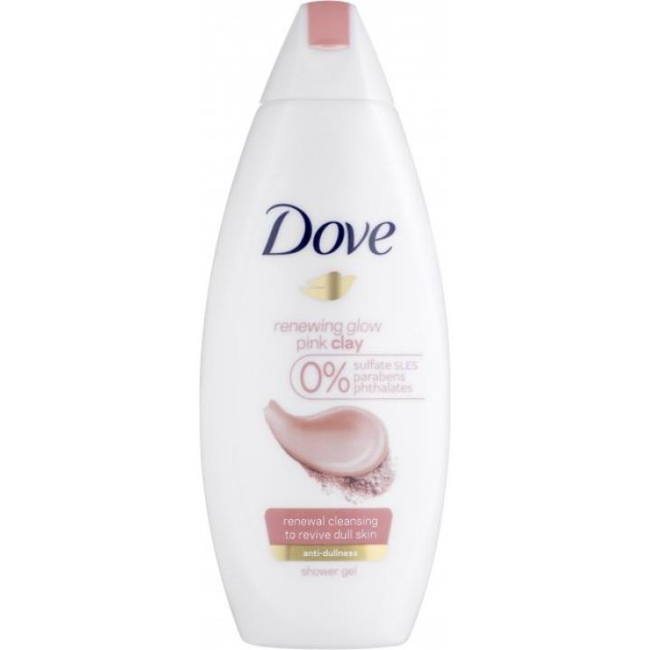 Крем-гель для душу Dove Відновлення з рожевою глиною 250 мл (8717163684863)