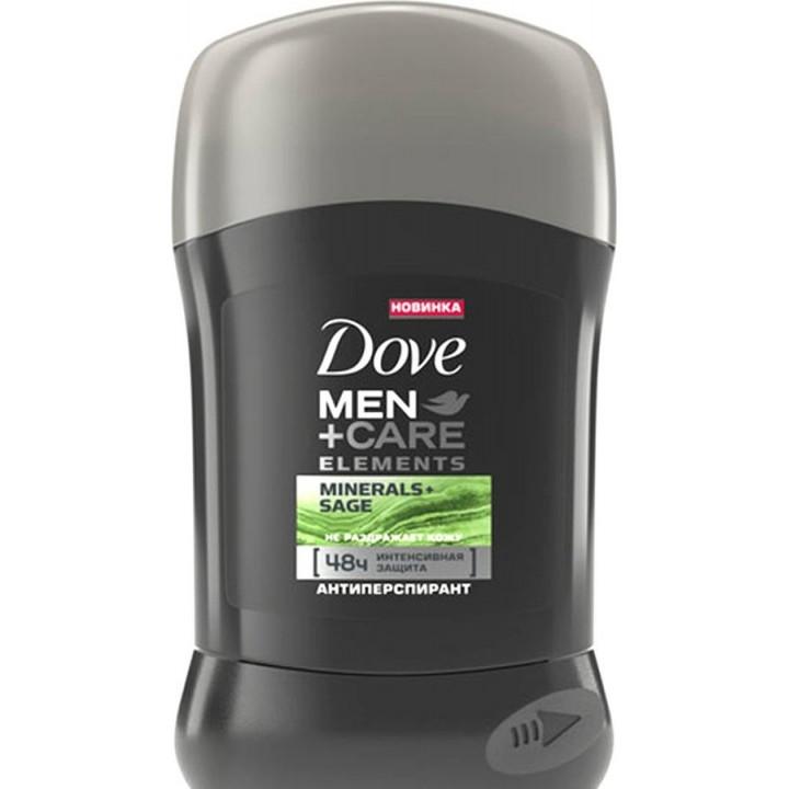 Антиперспірант-стік Dove Men + Care Свіжість мінералів і шавлії 50 мл (46185181)