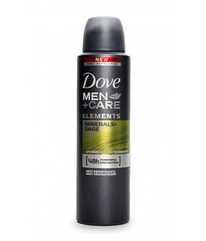 Антиперспірант-аерозоль Dove Men + Care Свіжість мінералів і шавлії 150 мл (8710908553820)