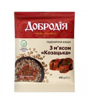 Каша Добродія козацька з м'ясом 40 г (4820182202223)