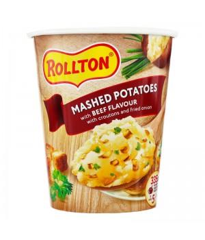 Пюре картопляне Rollton зі смаком яловичини 55 г