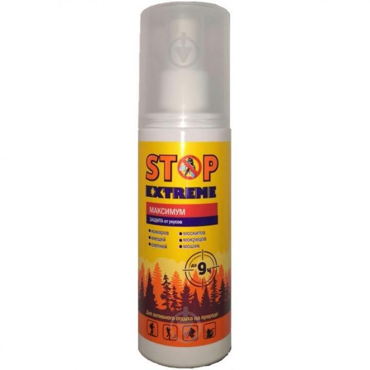 Лосьйон від комарів, кліщів і мошок Stop Extreme Максимум 100мл (4820212940422)