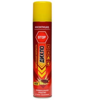 Універсальне аерозольна інсектицидний засіб Діхло Stop від всіх видів комах 200мл (8699621212095)