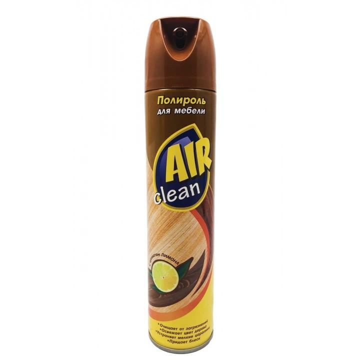 Поліроль для меблів AIR CLEAN з ароматом лимона 300мл (8699621303069)