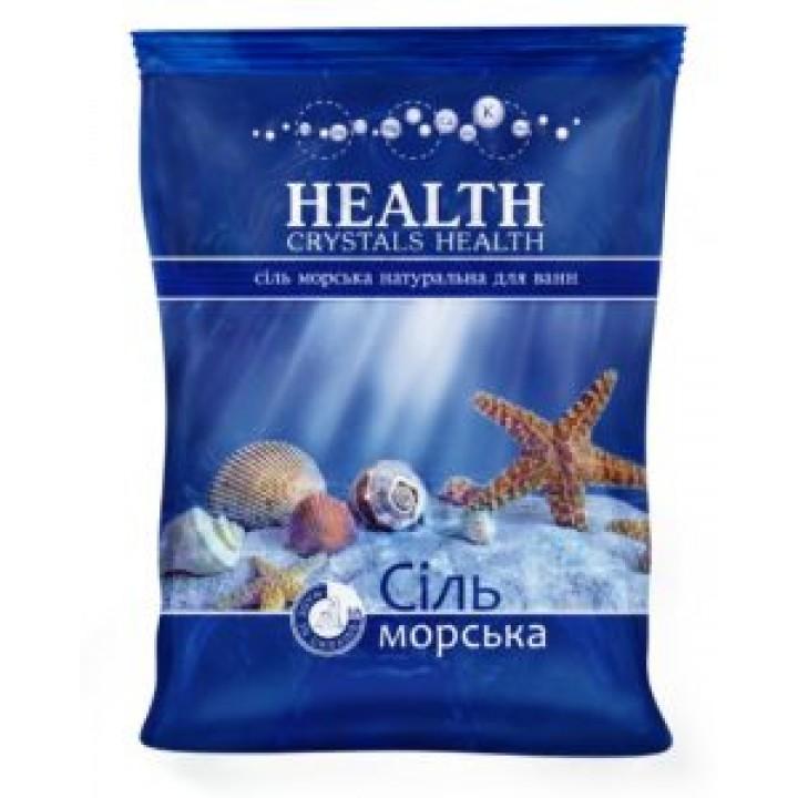 """Сіль морська натуральна """"Crystals Health"""" для ванн 500г (4820106490187)"""