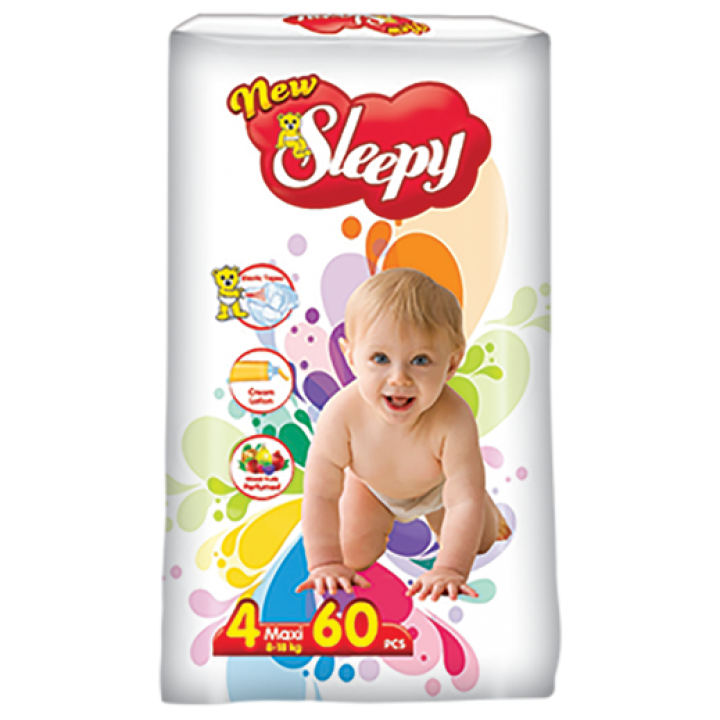 Підгузки Sleepy Super Maxi 7-18 кг 36 шт. (8697512321826)