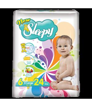 Підгузки Sleepy Super X Large 16 + кг 24 шт. (8697512324919)