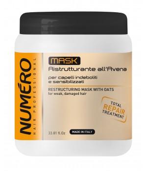 Маска для волосся Numero відновлююча з екстрактом вівса, 1 л (8011935052875)