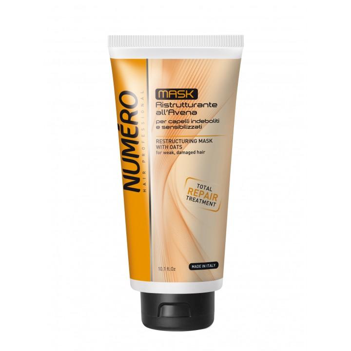 Маска для волосся Numero відновлююча з екстрактом вівса, 300 мл (8011935052882)