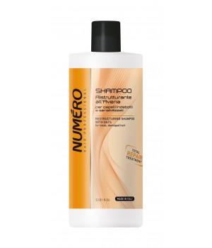 Шампунь для волосся Numero відновлюючий з екстрактом вівса, 1 л (8011935052899)