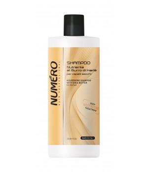 Шампунь для волосся Numero живильний з оліями Каріте (Ши) та авокадо, 1 л (8011935069699)