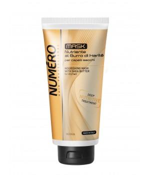Маска для волосся Numero живильна з оліями Каріте (Ши) та авокадо, 300 мл (8011935069705)