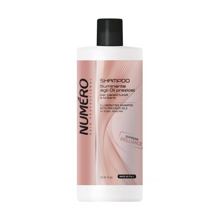 Шампунь Numero для додання блиску волоссю з цінними оліями, 1 л (8011935071760)