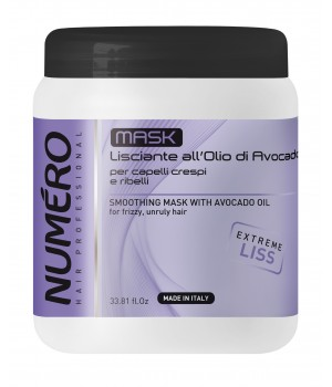 Маска для волосся Numero розгладжуюча з маслом авокадо, 1000 мл (8011935075157)