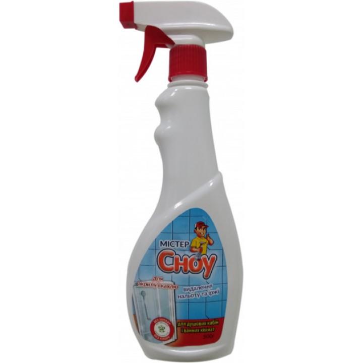 Cпрей для душових кабін та ванн Мистер Сноу без запаху 500 мл (4820074491001)