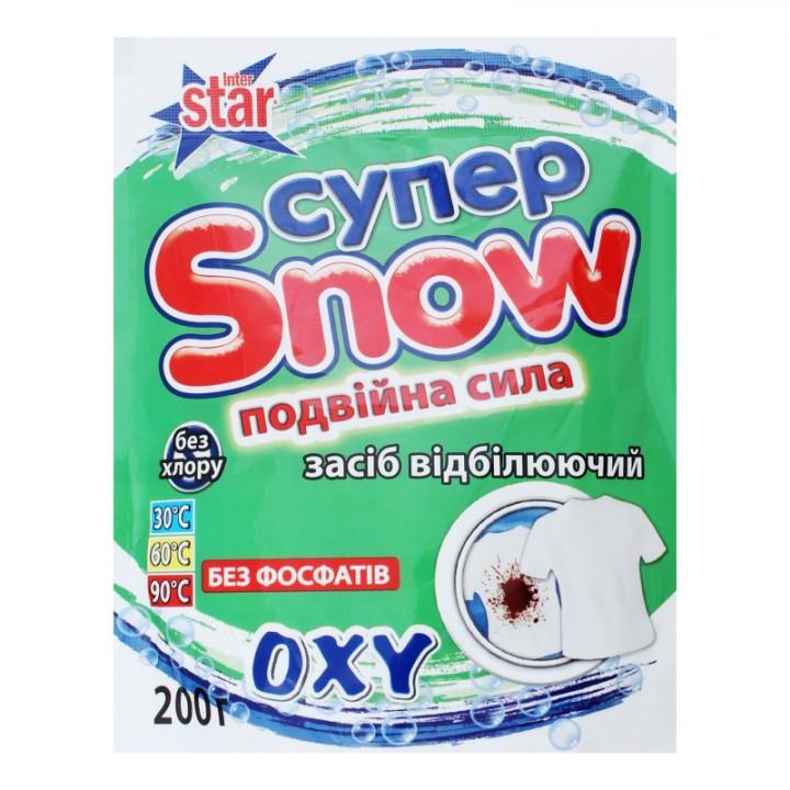 Засіб відбілюючий Super Snow подвійна сила з активним киснем 200г (4820074491278)