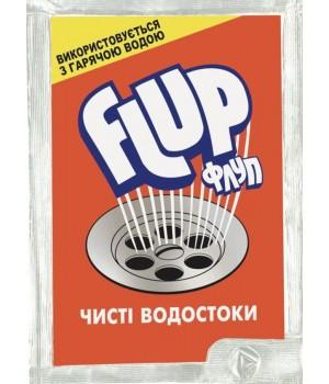 Засіб для прочищення труб Flup для гарячої води 80 г (5201137050011)