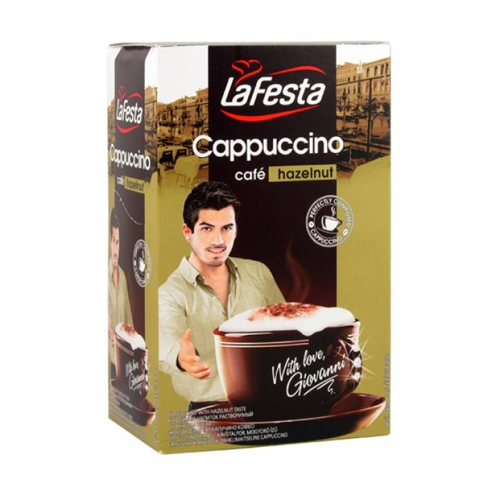 Капучино La Festa  зі смаком  горіха 10шт. х 12,5г (5900910999126)