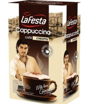 Капучино La Festa Creamy вершковий  10*12,5 г