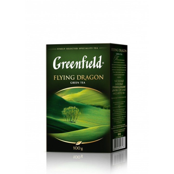 Чай зелений Greenfield Flying Dragon 100 г