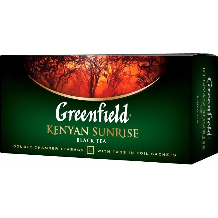 Чай чорний Greenfield Kenyan Sunrise  25х2 г