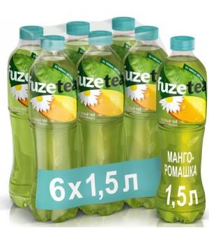 "Чай зелений Fuzetea ""Манго - ромашка"" 1.5 л"