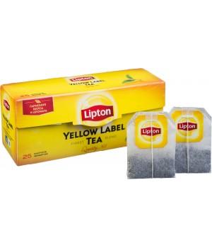 Чай чорний Lipton Yellow Label 25х2 г