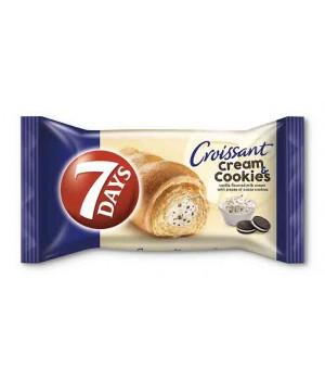 Круасан 7DAYS  крем ваніль з шоколадним печивом 60 г (5201360531332)