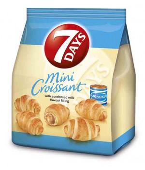 Міні-круасани 7DAYS з кремом Варене згущене молоко 185 г (5201360543472)