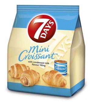 Міні круасани 7DAYS з кремом Варене згущене молоко 60 г (5201360573493)
