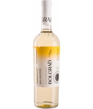 Вино Bolgrad Bon Coupage біле напівсолодке 0,75 л