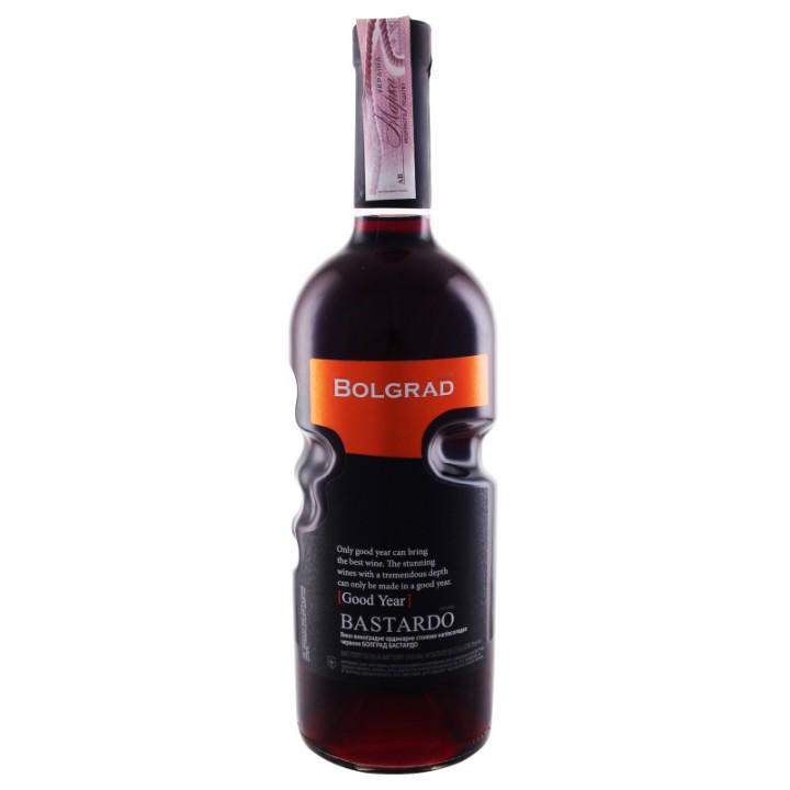 Вино Bolgrad Bastardo червоне напівсолодке 0,75 л
