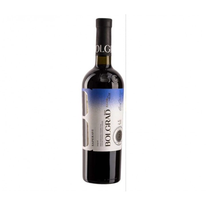 Вино Bolgrad Saperavi червоне сухе 0,75 л