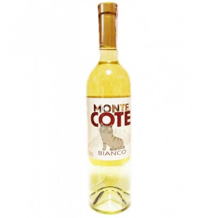 Вино Monte Cote Bianco біле напівсолодке 0,75 л
