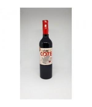 Напій на основі червоного вина Monte Cote Dolce солодкий з чорносливом і тереном 0,75 л