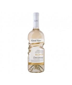 Вино Bolgrad Chardonnay біле сухе 0,75 л