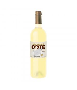 Напій на основі білого вина Monte Cote Dolce солодкий зі сливою і аличею 0,75 л