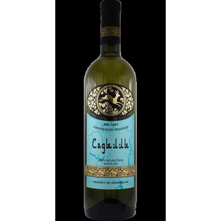 "Вино ""Абшерон-Шараб"" Садилли біле сухе 0,75 л"