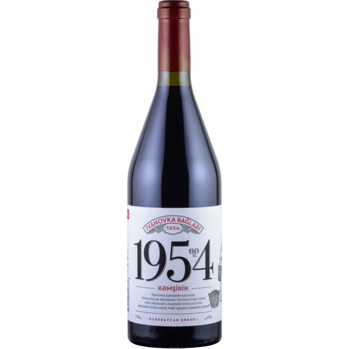 Вино Ivanovka Baglari 1954 Кямшірін червоне напівсолодке 0,75 л