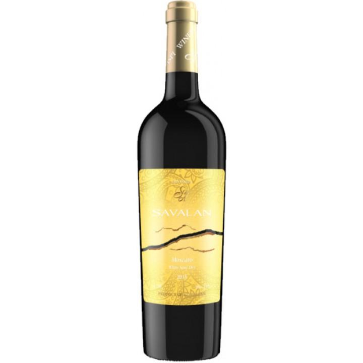 Вино Savalan Moscato біле напівсухе 0,75 л