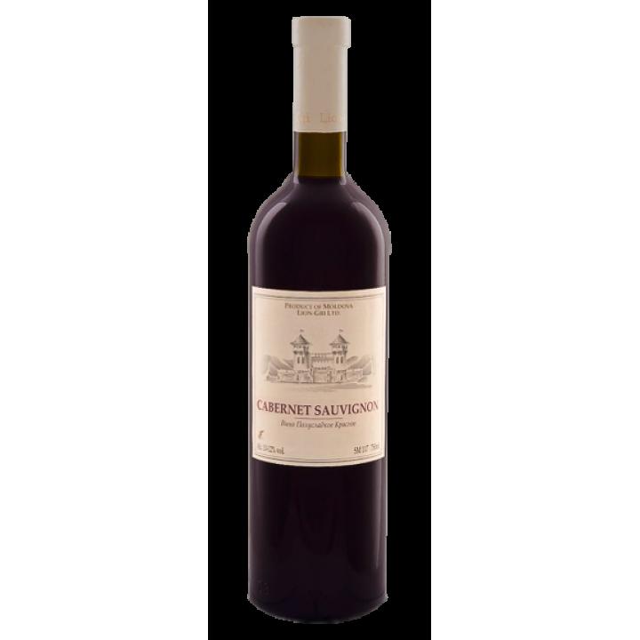 Вино Lion-Gri Cabarnet Sauvignon червоне напівсолодке 0,75 л