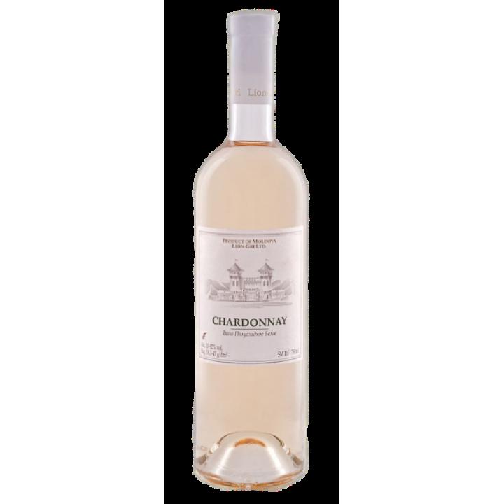 Вино Lion-Gri Chardonnay біле напівсолодке 0,75 л