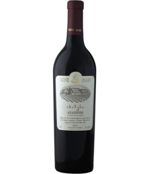Вино Wine Man Ахашені червоне напівсолодке 0,75 л