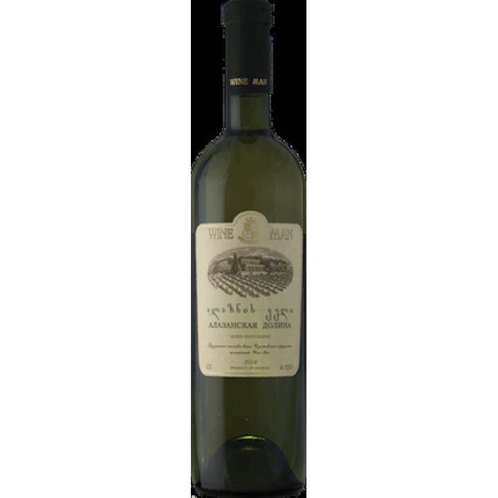 Вино Wine Man Алазанська долина біле напівсолодке 0,75 л
